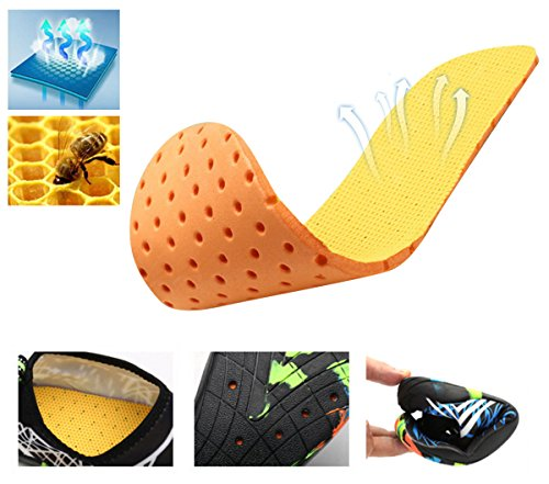 for Putu Mens Surf Women Summer Aquashoes Water Unisex Shoes Shoes Quick Shoes Drying Blue Bathing rSP4rq