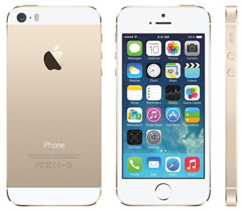 Apple iPhone 5S Gold 16GB Unlocked GSM Smartphone (Certified Refurbished) ()