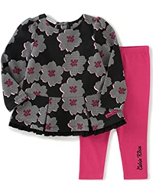 Baby Girls' Chiffon 2 Piece Tunic/Leggings Set