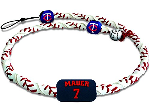 MLB Minnesota Twins NecklaceFrozen Rope Classic Baseball Joe Mauer, Team Colors, One Size (Necklace Mlb Genuine)