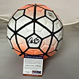 Autographed/Signed Abby Wambach Team USA World Cup USWNT Nike Soccer Ball PSA/DNA COA