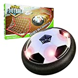 Our-Day Toys for 3-8 Year Old Boys, LED Air Power Hover Ball with Goal Toys for 3-12 Year Old Girls Gifts for 3-12 Year Old Girls BlackY ODUKXF04