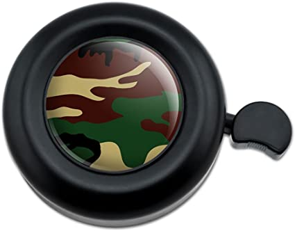 Bicycle Handlebar Bike Bell Camouflage Army Soldier