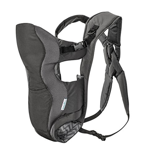 Evenflo Breathable Soft Carrier, Grey ()