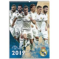 Calendario2019-12 láminas A3 Real Madrid