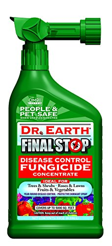 Dr. Earth Final Stop Disease Control Fungicide, 32 oz. - Organic Lawn Fungicide