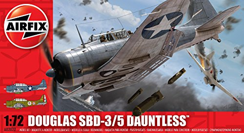 - Airfix A02022 1:72 Scale Douglas Dauntless SBD 3/5 Model Kit