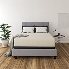 Take sleep to a whole new level with the comfort of the chime 12 inch express mattress. Simply unpack and unroll your bed for maximum comfort.6. Care instruction: To help keep your Ashley-Sleep mattress clean, a thin mattress protector is rec...