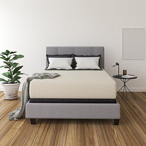 Ashley Furniture Signature Design - 12 Inch Chime Express Memory Foam Mattress - Bed in a Box - Queen - Firm Comfort Level - White Box Top Mattress Set Queen