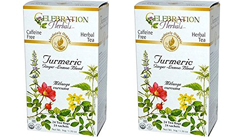 Celebration Herbals Organic Turmeric Ginger