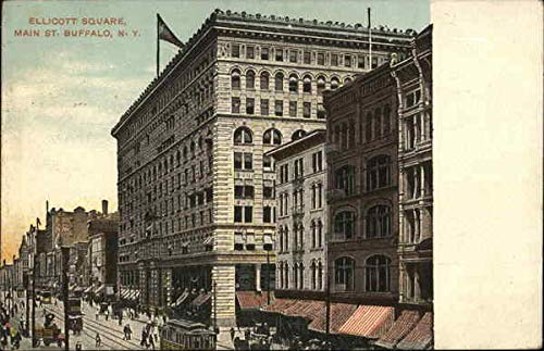 Ellicott Square Buffalo, New York Original Vintage Postcard