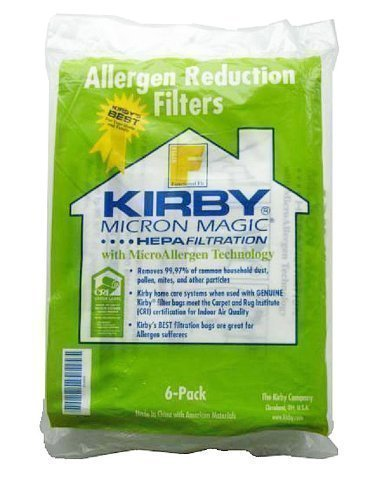 Kirby Sentria Style F Vacuum Cleaner Hepa Cloth Dust Bags Pa