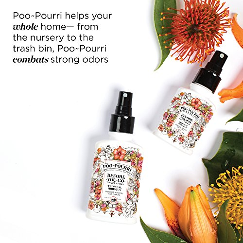 PooPourri BeforeYouGo Toilet Spray Tropical Hibiscus Scent 2 oz