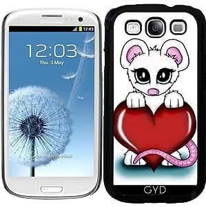 Funda para Samsung Galaxy S3 (GT-I9300) - Amor Mouse by Pezi Creation
