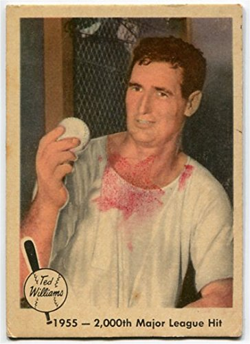 Fleer 1959 Ted Williams 1955 2000th Major Leauge Hit Card #56 Boston Red Sox