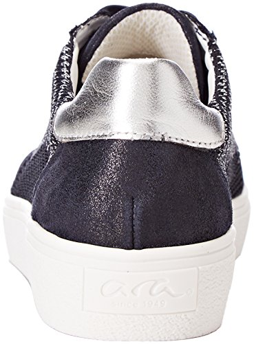 New UK Women's York Silber ara 8 06 Blau Trainers UK 16PFFxw