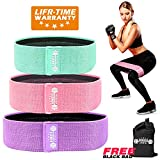 Resistance Exercise Bands for Legs and Butt,Booty Bands Hip Bands Wide Workout Bands Sports-Fitness Bands Stretch Resistance Loops Band Anti Slip Elastic…