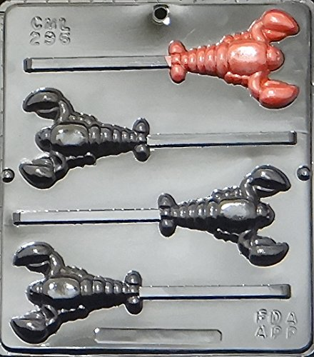 Lobster Lollipop Chocolate Candy Mold