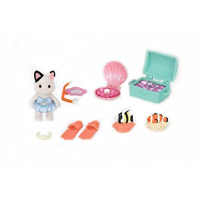 Calico Critters Seaside Treasure Set: Toys & Games