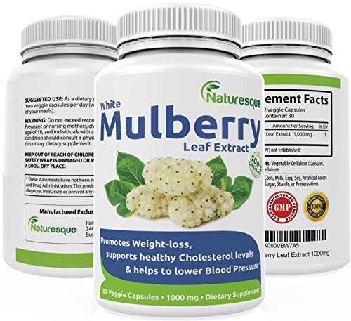 Mulberry Antioxidants Capsules Supplement Natureque product image
