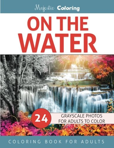 On the Water: Grayscale Photo Coloring for Adults