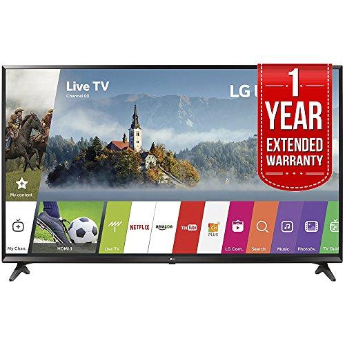LG 55UJ6300 55-inch 4K Ultra HD Smart LED TV (2017 Model) with 1 Year Extended Warranty