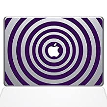 "The Decal Guru 2048-MAC-15X-LAV Music Waves Decal Vinyl Sticker, Lavender, 15"" MacBook Pro (2016 & Newer)"