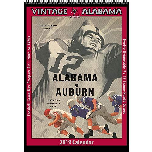 Vintage Alabama Crimson Tide 2019 College Football Calendar