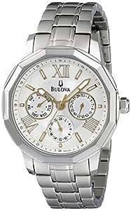 Bulova Reloj Bul-98R169 Plateado