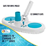 """U.S. Pool Supply 13"""" Weighted Pool Vacuum Head with"""
