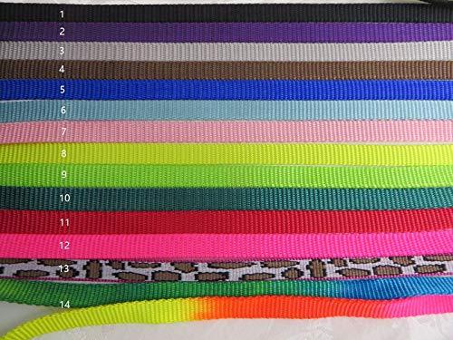 FidgetFidget Nylon Webbing- Multi Color Choices Heavy Weight 3/8