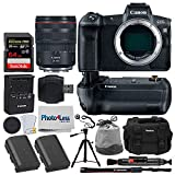 Canon EOS R Mirrorless Digital Camera + Canon RF 24-105mm f/4L is USM Lens + Canon BG-E22 Battery Grip for EOS R + Canon Battery Pack LP-E6N + 64GB Memory Card + Tripod + Photo4Less DC59 Case + More For Sale