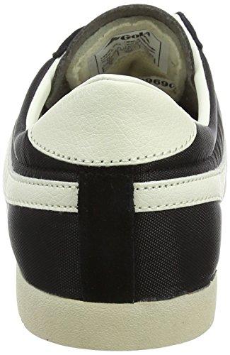 Gola Herren Kugel Nylon Sneaker Schwarz / Ecru