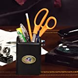The Memory Company NHL Columbus Blue Jackets Official Black Pencil Holder, Multicolor, One Size