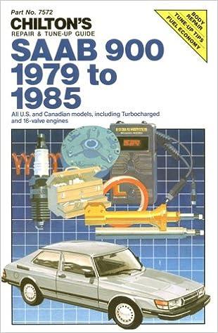 Saab 900, 1979-85 (chilton's repair manual): chilton.