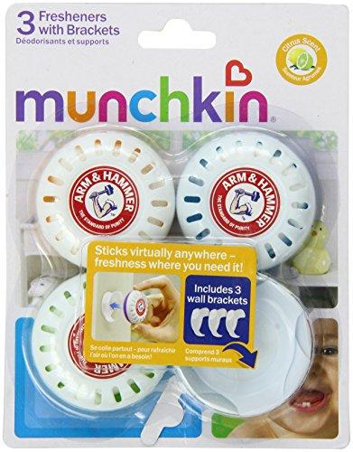 Munchkin Arm & Hammer 3 Piece Fresheners pépinière avec supports