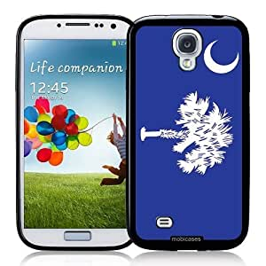 Cool Painting Flag of South Carolina - Protective Designer BLACK Case - Fits Samsung Galaxy S4 i9500