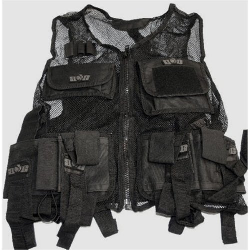 Gen-X Global GXG Paintball Lightweight Vest, Black