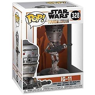 Star Wars: The Mandalorian - IG-11 Pop! Vinyl Figure (Includes Compatible Pop Box Protector Case)