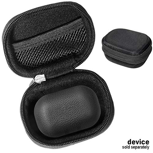 Black Protective Case for Bang & Olufsen Beoplay E8 2.0 True Wireless Earbuds, Customized case for True Wireless Earbuds Charging case, mesh Accessory Pocket, Elastic Security Elastic Strap