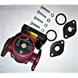 Heatflo Systems GPD15-4SFC 1/25 Horsepower 3 Speed Circulating Pump Complete with Flanges, O-Rings and Bolt Kit