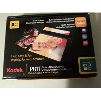 Kodak Personal Photo Scanner P811 Instructions