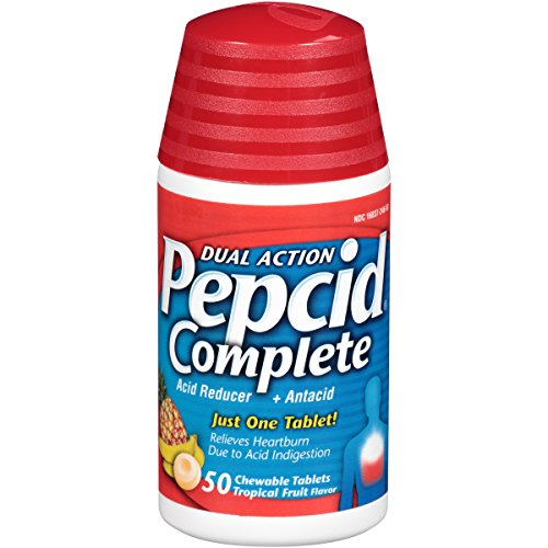 Pepcid Complete Reducer Chewable Tropical