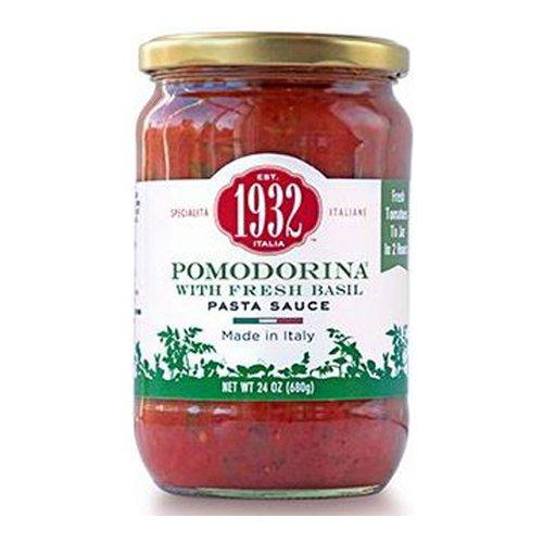 Menu 1932 Pomodorina with Fresh Basil Pasta Sauce, 24 oz (Pack of 2) (Menu Pomodorina Sauce)