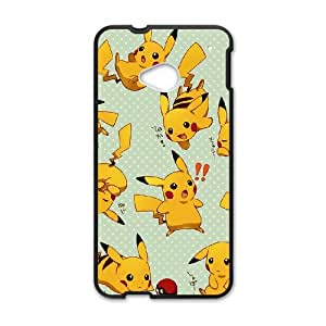 Pikachu for HTC One M7 Phone Case 8SS460924