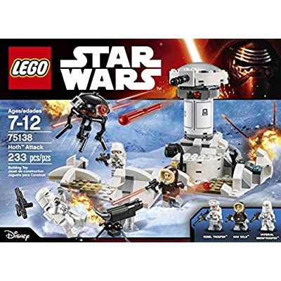 LEGO STAR WARS Hoth Attack 75138: Toys & Games