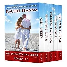 The January Cove Series: Books 1-5 by [Hanna, Rachel]
