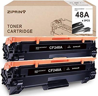 ZIPRINT - Cartucho de tóner Compatible HP 48A CF248A para ...