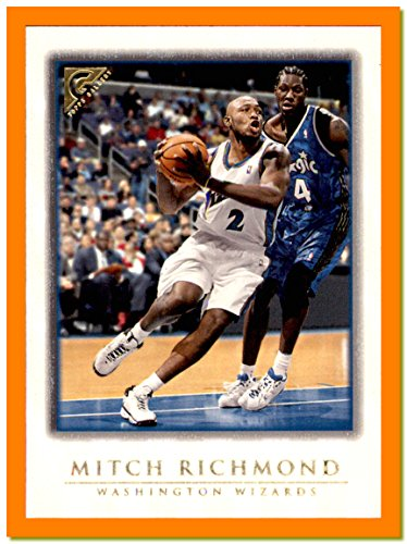 (1999-00 Topps Gallery #91 Mitch Richmond WASHINGTON WIZARDS)