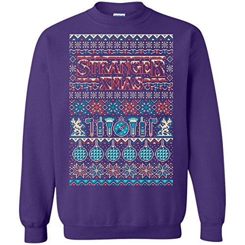 Ugly Xmas Stranger Things Eleven Christmas Sweater